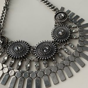 Aldo Silver Necklace